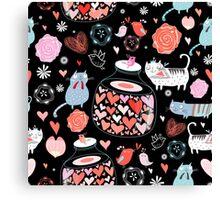 love cats Canvas Print