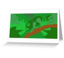 Chameleon-ness Greeting Card