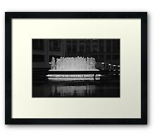 Lincoln Center Fountain Framed Print