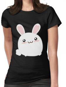 Fat Kawaii Bunny Womens Fitted T-Shirt