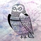 graphic owl by Tanor