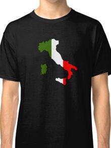 Map of Italy Classic T-Shirt