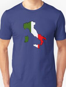 Map of Italy Unisex T-Shirt
