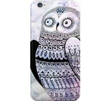 graphic owl iPhone Case/Skin
