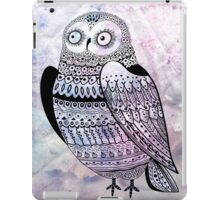 graphic owl iPad Case/Skin