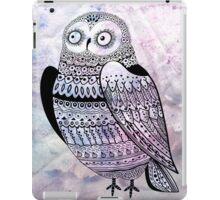 graphic owl iPad Case/Skin