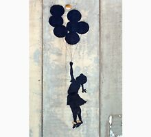 Floating Balloons by Banksy Unisex T-Shirt