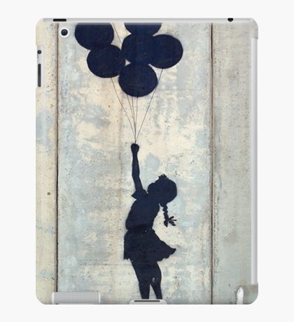 Floating Balloons by Banksy iPad Case/Skin