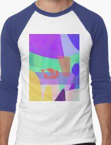 Inside of a Shark's Mouth Men's Baseball ¾ T-Shirt