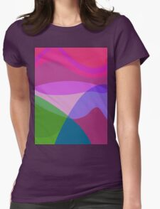 Overlooking the Lake Womens Fitted T-Shirt