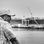 Edwin at Clifton Pier - Nassau, The Bahamas by Jeremy Lavender Photography