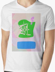 Radio Mens V-Neck T-Shirt