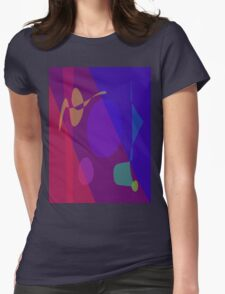 Family in the Evening Womens Fitted T-Shirt