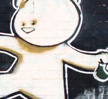 Bear By Banksy Sticker