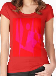Standing on the Ground Women's Fitted Scoop T-Shirt