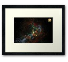 Nebulae 130503-1 Framed Print