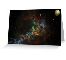 Nebulae 130503-1 Greeting Card