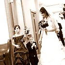 Bride and Children by LaurelMuldowney