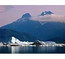 Alaska - Columbia Glacier Photographic Print