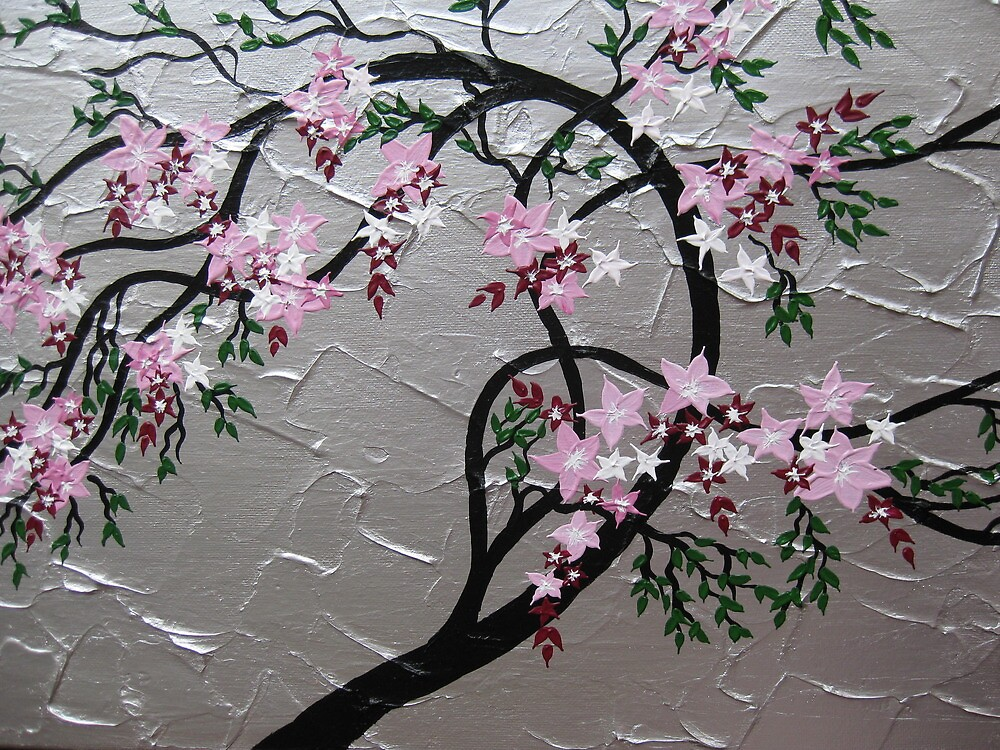 Cherry blossom ( Sakura ) by cathyjacobs