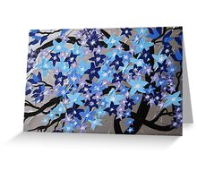 Winter blossom by Catherine Jacobs Greeting Card