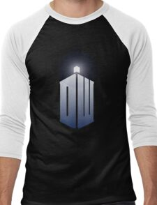 11th Doctor Logo Men's Baseball ¾ T-Shirt