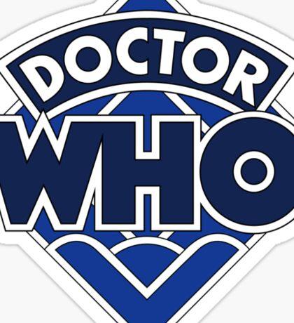 4th Doctor Logo Sticker