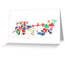 Christmas 4 Greeting Card