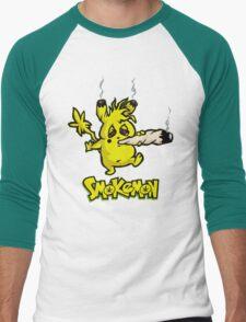 SMOKEMON Men's Baseball ¾ T-Shirt