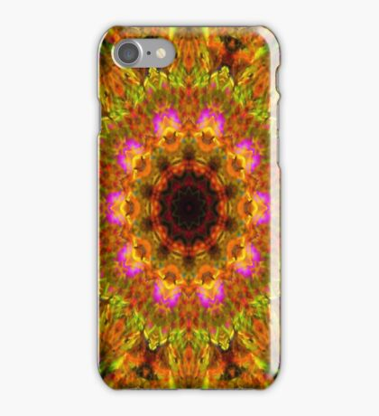 Mandala - Happiness iPhone Case/Skin