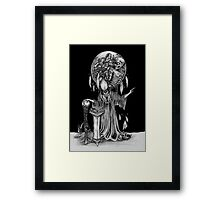 The Dark Wizard Framed Print