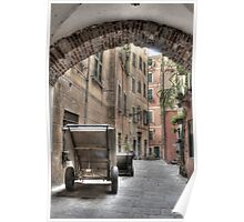Camogli Alley Poster