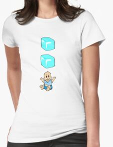 Ice Ice Baby Womens Fitted T-Shirt