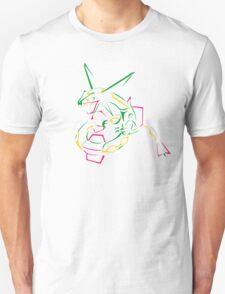 Rayquaza Line Art Unisex T-Shirt