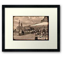 Camogli Vintage Framed Print
