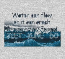 Be Water,My Friend JKD by spidyWebber