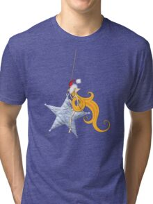 Kazart Phoebe 'Super Star Christmas' Tshirt Tri-blend T-Shirt