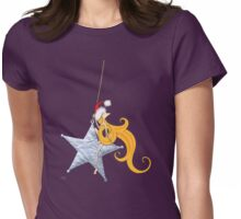 Kazart Phoebe 'Super Star Christmas' Tshirt Womens Fitted T-Shirt