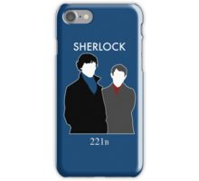 Sherlock and Watson iPhone Case/Skin