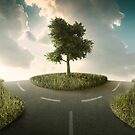 Crossroad by jordygraph