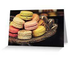 Macarons Greeting Card