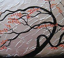 zen bonsai tree II by Catherine Jacobs of SheerJoy by cathyjacobs