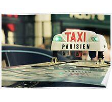 Taxi Parisien Poster