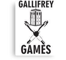 Gallifrey Games Canvas Print