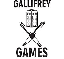 Gallifrey Games Photographic Print