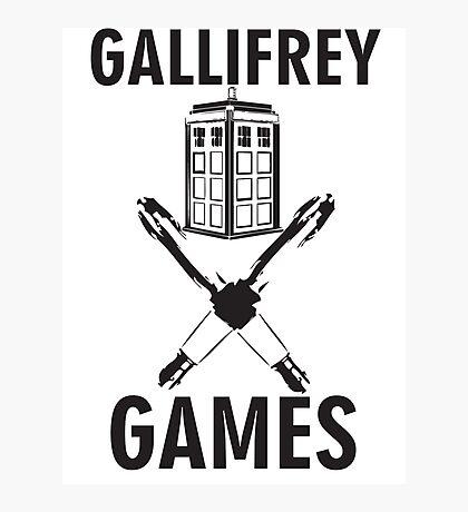 Gallifrey Games Photographic Print