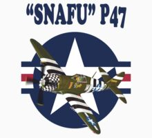 Snafu P47 Tee Shirt  by Colin  Williams Photography