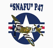 Snafu P47 Tee Shirt  Unisex T-Shirt