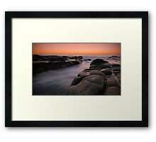 Point Cartwright Framed Print