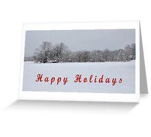HAPPY HOLIDAYS Greeting Card